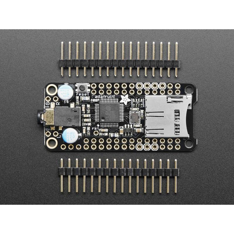 Lecteur micro-SD MP3 d/écodeur MP3 avec amplificateur 3 W pour Arduino /& microcontr/ôleur