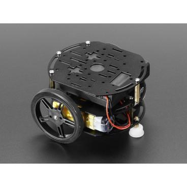 Mini kit chassis 3 etages de robot 2WD avec moteurs DC