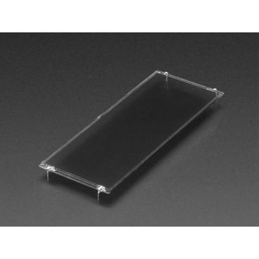 Valve de lumière a cristal liquide - Panneau noir controlable