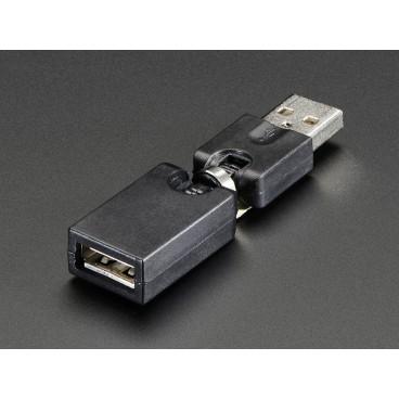Adaptateur pivotant USB flexible