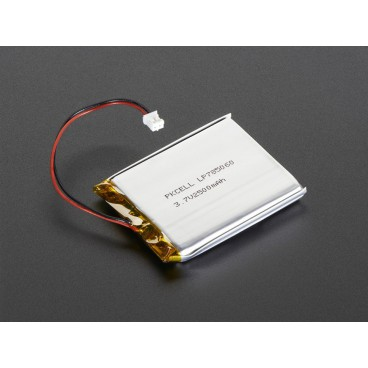 Lithium Ion polymer - 3.7V 2(00mAh battery