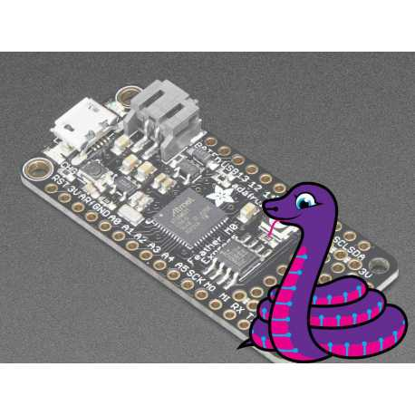 Feather M0 Express - pour CircuitPython - ATSAMD21 Cortex M0