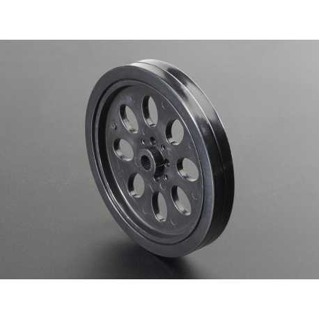 Wheel for servo motor