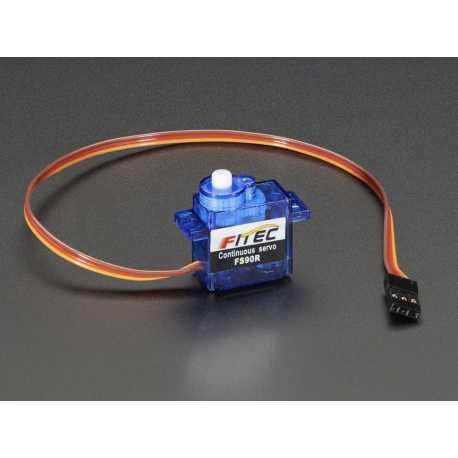 Micro Servo moteur a rotation continu - FS90R