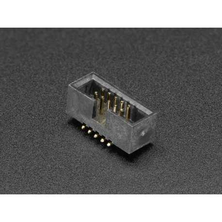 Connector SMT 2 x 5 pins male - not of 1.27 mm - SWD