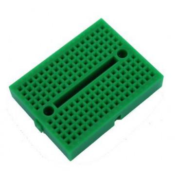 Mini Breadboard - Platine d'essais 170 contacts Vert