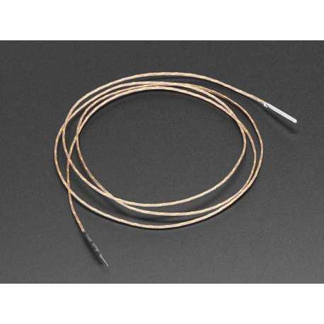 Thermocouple Type-K Isolation fibre de verre - Sonde en acier inoxydable
