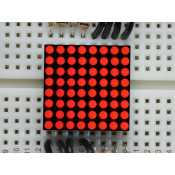 Matrice 8x8 LED Rouge 20mm