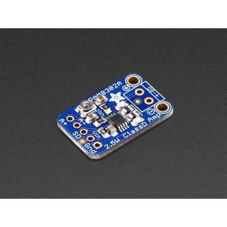 Ampli audio classe D Mono 2,5W - PAM8302