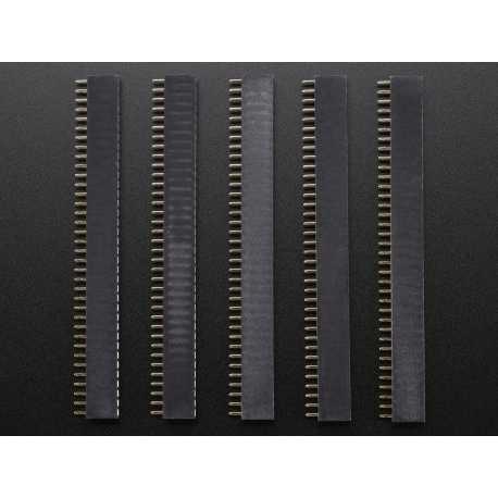 Connecteur 1X36 2,54mm Femelle - Lot de 5