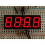 """Afficheur Horloge 7 segments rouge 4 digits - 0,56"""""""