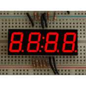 Display Clock 7 segments red 4 digits - 0,56""