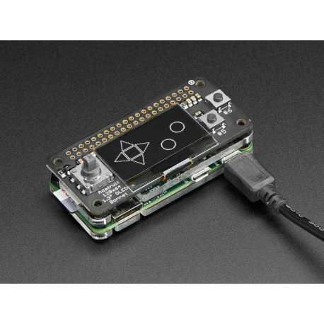 Adafruit 128x64 OLED Bonnet pour Raspberry PI
