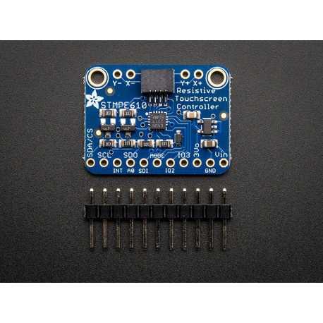 Controleur de dalle tactile resistive - STMPE610