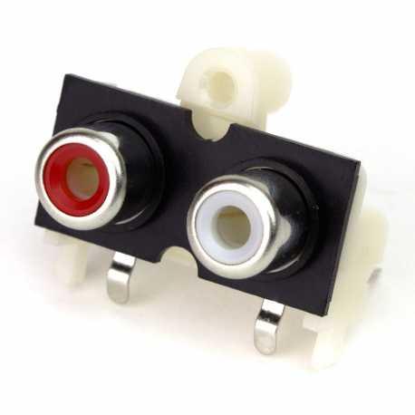 Connecteur audio double RCA pour pHAT DAC