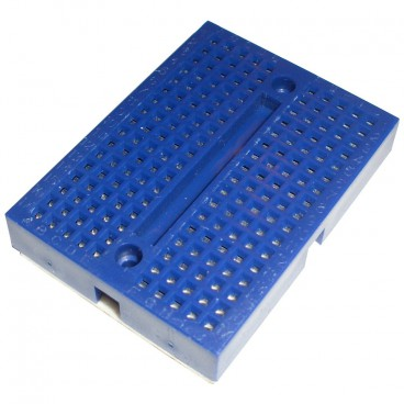 Mini Breadboard - Tests 170 contacts blue Platinum