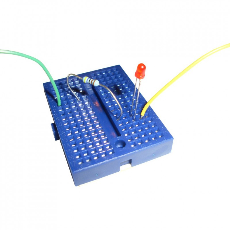 Blanc Platine d/'essais 170 contacts Breadboard PCB Arduino
