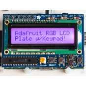 Raspberry Pi RGB Positive 16x2 LCD Kit