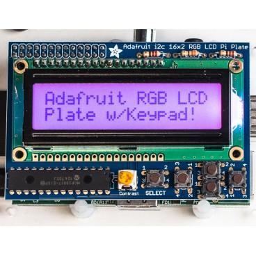 Raspberry Pi RGB Positive 16 x 2 LCD Kit