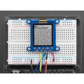 "Ecran SHARP Memory LCD - 1.3"" 168x144 Monochrome"