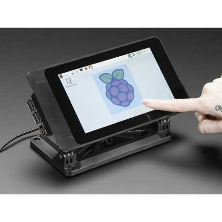 "SmartiPi Touch - Support pour écran tactile Raspberry Pi 7"" Touchscreen Display"