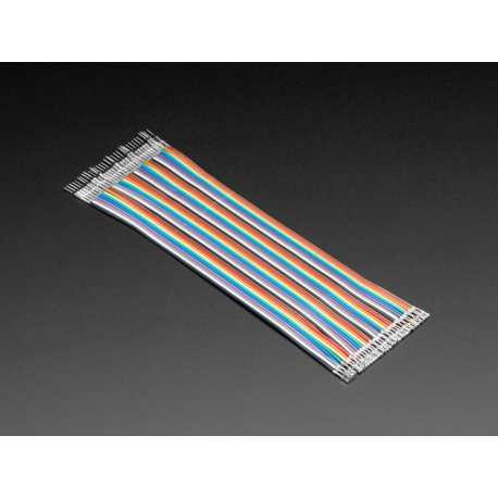 Kit de 40 wires Male-Femelle brut Customisable 200mm Premium dupont