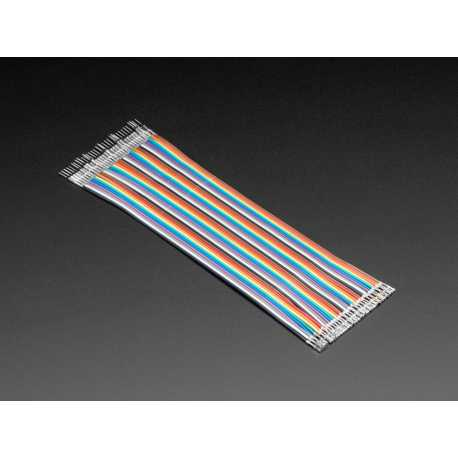 Kit of 40 male-female gross customizable 200 mm Premium dupont wires