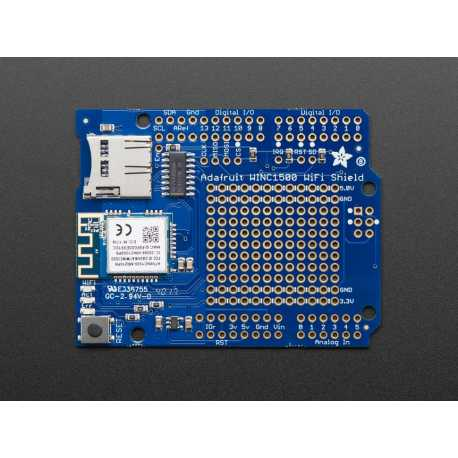 Shield Wifi WINC1500 avec antenne PCB