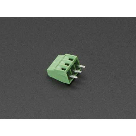 "2.54mm/0.1"" Pitch Terminal Block - 3-pin"