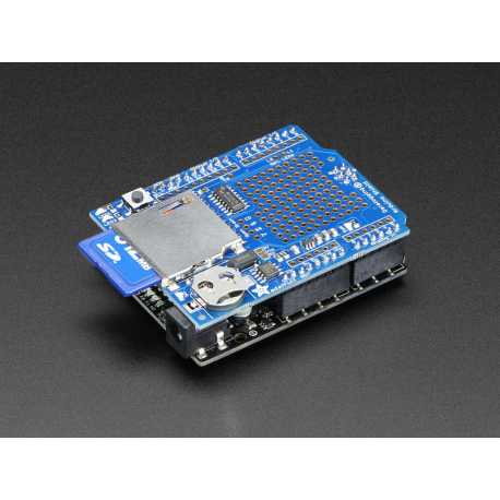 Data Logging Shield pour Arduino - Adafruit