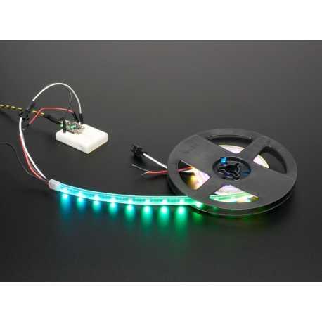 Bande lumineuse laterale Adafruit NeoPixel LED - Noir 60 LED 1m