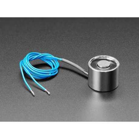 Electro-aimant 5V - 2,5 Kg Force de maintien - P20/15