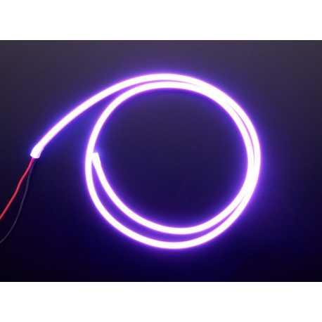 Bande Flexible Silicone Neon LED - 1 Metre - Violet