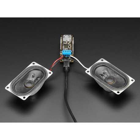 Music Maker FeatherWing avec amplificateur - Lecteur MP3 OGG WAV WAV MIDI Synth Player - Amplificateur stereo 3W