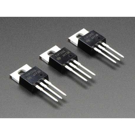 TIP120 Transitors de puissance Darlington Transistors - pack de 3