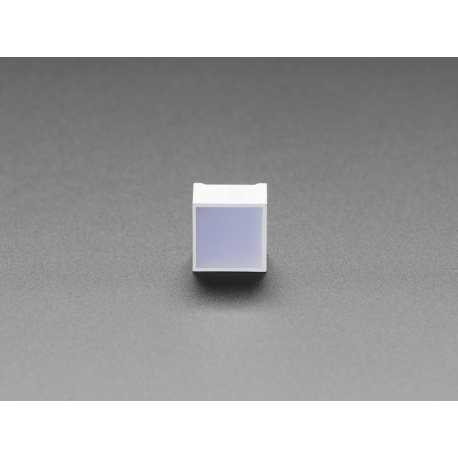 Diffused Red Indicator LED - 15mm Square