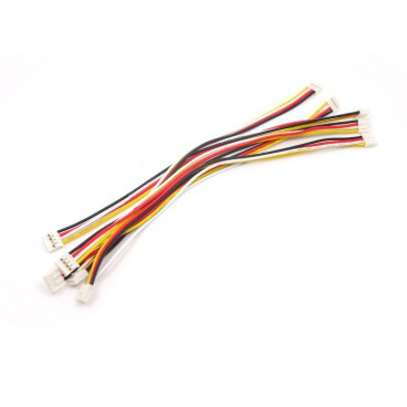 5X Cable Grove universel 4 pins 20 cm