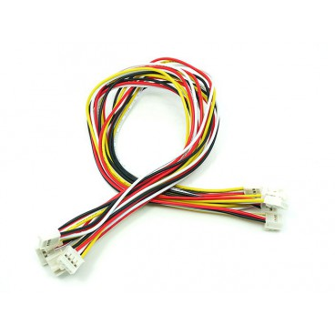 5X Cable Grove universel 4 pins 30 cm