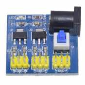 Power supply module 7-12V to 3,3V 1A and 5V 1A