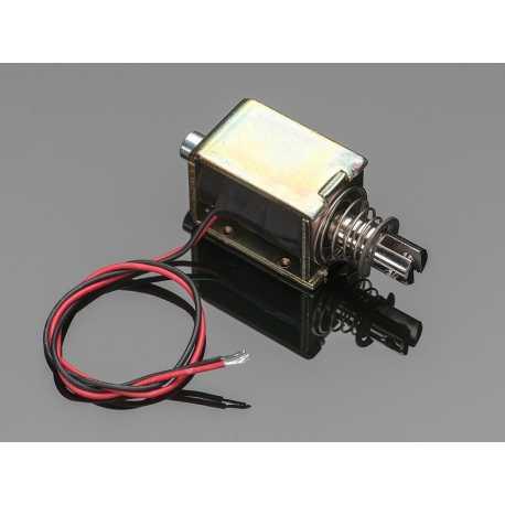 Large Push-Pull Solenoid - 12VDC