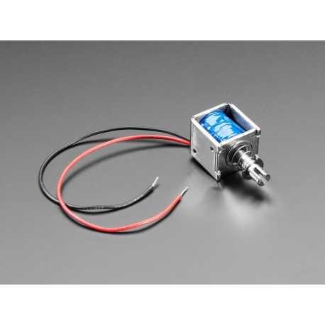 Medium Push-Pull Solenoid - 5V or 6V