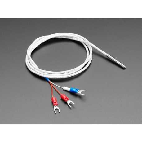 Sonde temperature RTD Platine - PT1000 - 1m