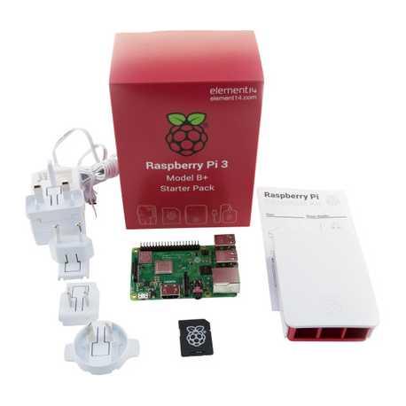 Starter Kit for Raspberry Pi 3 Modele B+
