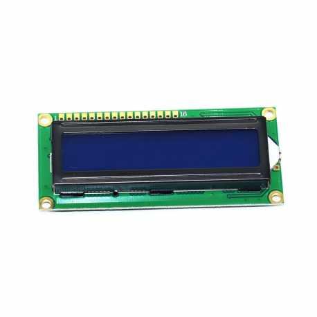 Afficheur alphanumerique LCD 16X2 Retro-eclaire Bleu HD44780