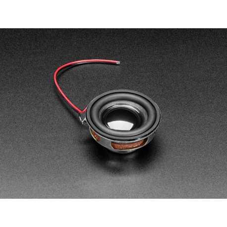 Haut-parleur - 40mm de diametre - 4 Ohm 3 Watt