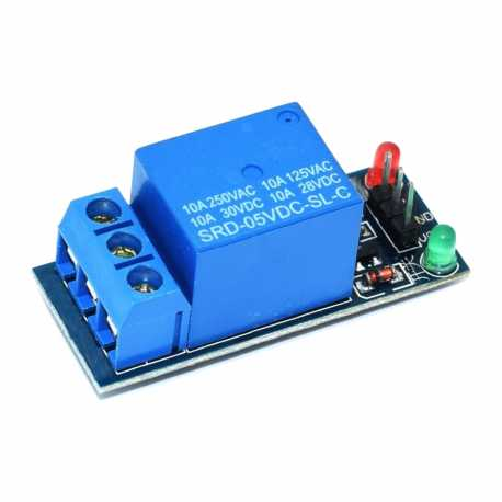 5V opto-isolated relay module 1 channel 10A