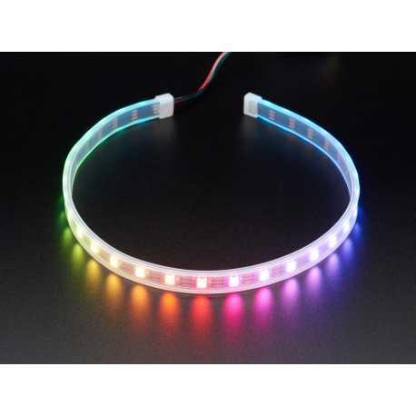 Bande de LED NeoPixel 30 LED RGB avec connecteur JST - 0,5m