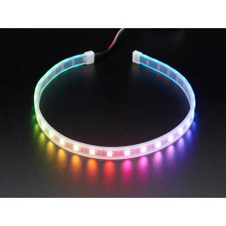 NeoPixel 30 LED RGB LED strip light with JST connector - 0.5m