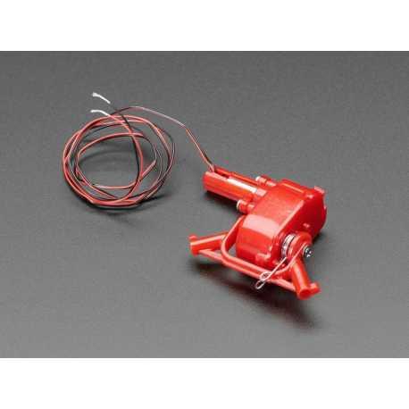 Mini motoreducteur avec ressort de rappel