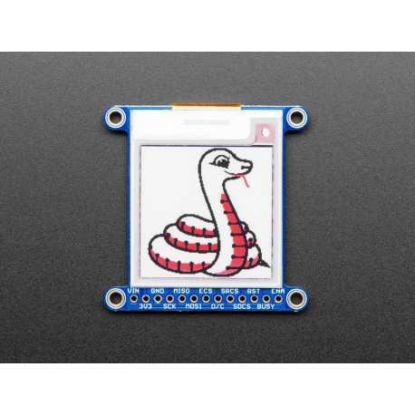 """Ecran 1.54"""" Tri-Color eInk / ePaper avec SRAM - Rouge Noir Blanc"""
